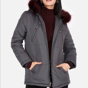 Express parka jacket NWT size small